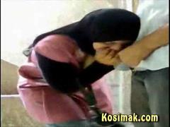 hijab sex outside