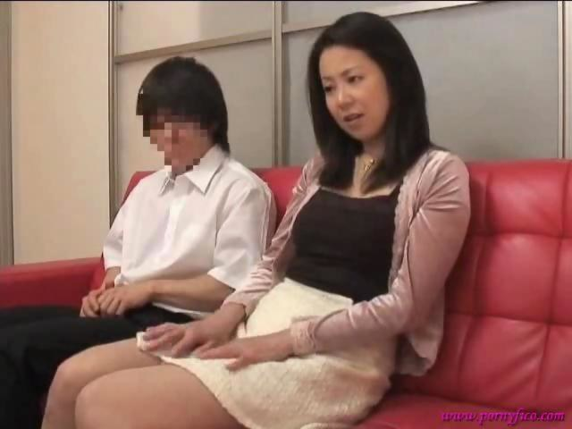 Japan mother son sex tests