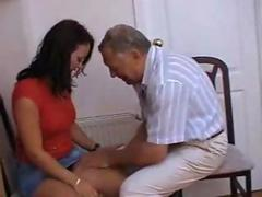 French Teen girlfriend Amateur Taboo homemade reality sex with oldman