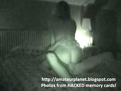 HOTEL SECURITY CAM CAUGHT COUPLE