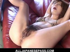 Hot japanese milf maria asagiri bound and toyed movie