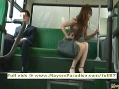 Rio innocent chinese girl is fucked on the bus film
