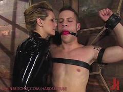 Dominatrix Destroys His Slave ASs
