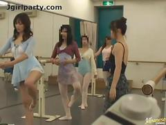 Japanese Ballet Dancer With A Remote Control Sex toy