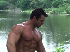 Frank Defeo outdoor photo shoot