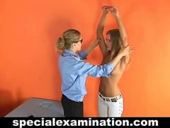 Gyno examination for blonde hottie