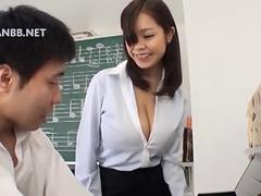 busty brunette Asian lass wants to fuck her piano teacher