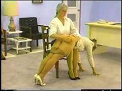 Find her on W1LD4U.COM - Vintage Spanking