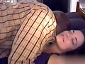 Brunette chick lets a black dude do what he wants