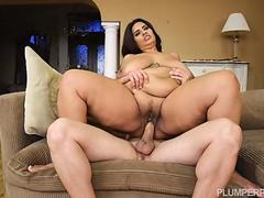 BBW MILF Sofia Rose Plays Pong For Sex