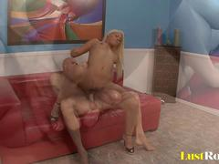 Beautiful shaved Bridgette B gets fucked hard