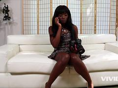 Vivid.com - Black babe Ana ends up getting fucked by her Stepdad