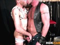 Kinky gay hunk assfucking