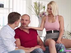 BIsexempire Bisex guy joins couple in threesome