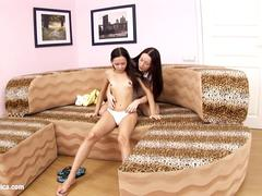 Pleasing Oral sensual lesbian scene by SapphiX