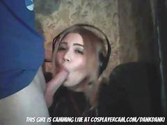 facefucking a girl i met playing cod on xbox live... video