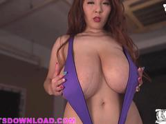 Biggest asian boobs in lingerie