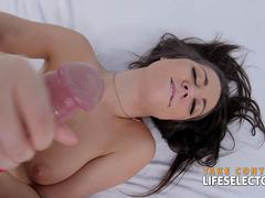 Lily Adams - Feral Blowjob in POV