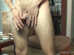 Young Latino Angelo Jerking Off
