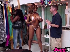 JuggPorn. Moriah Mills closes the store to get pumped