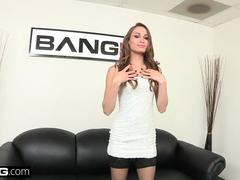 Southern babe Kacy Lane gets a load of jizz to the face