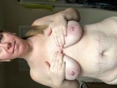 selfshot video saggy grandma Emily
