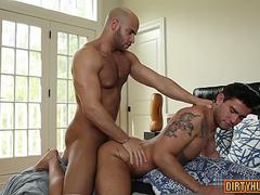 muscle gay anal sex with cumshot movie segment 3
