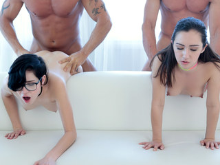 DaughterSwap - Hot Naive Teens Seduces and Tricked Into Fucking