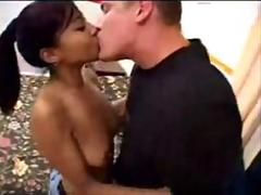 beautiful thai babe fucking with White Guy