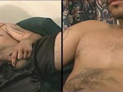 hot latino strokes and plays with his big verga