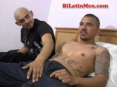 Gay Mexican guys suck each other and fuck bare back