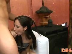 Hot  girls sucking cock blowjob 12