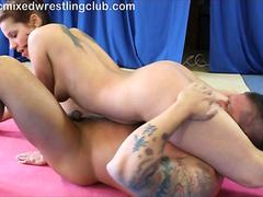 Ballbusting catty heaven play with pervert039s cock and balls - 1 part 2
