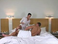 Massage then Hard Fuck