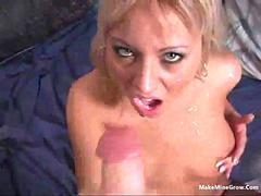 Gorgeous Blonde in Threesome 2