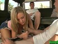 Bree Olson Sucking Random Cocks on the Hump Bus