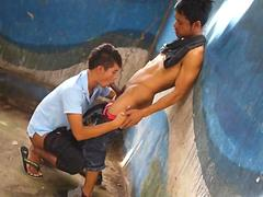 Asiaboy Benz and Oliver 1 Scene 1
