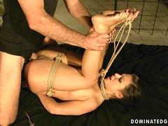 Young girl getting punished and fucked
