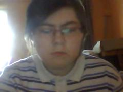 chubby nerd cute webcam