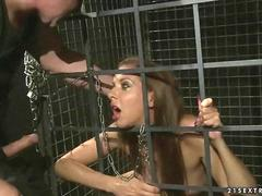 Slavegirl gets punished and fucked segment