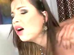 Terra Nova get ana fuck and cum over her huge boob she likes it big