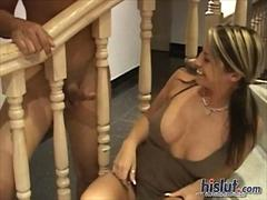 Kori pleases this cock