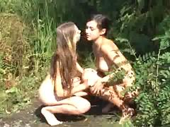 Beach Nudist naked FKK Mering outdoor