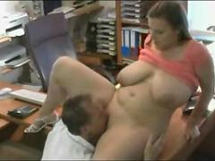 Fucking Fat Chubby friend coworker in the Office