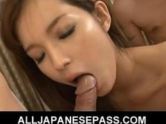 Perfect mei haruka has her fine ass licked and her pussy banged video