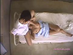Doctor And Nurse Licking And Fingering Pussies 69 On The Bed In The Hospital