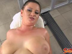 Busty Barbara Ross gets nailed in POV-Style