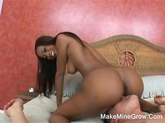Hot ebony kydie fucked by white guy movie