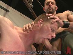 Dominated and Fucked by a Hot Gay Stud