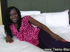 Sultry black mamba teen